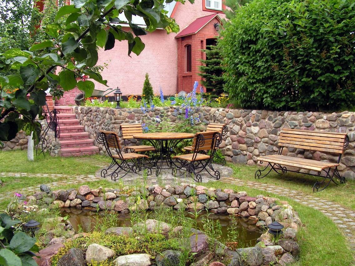 Садовый дизайн своими руками с фото